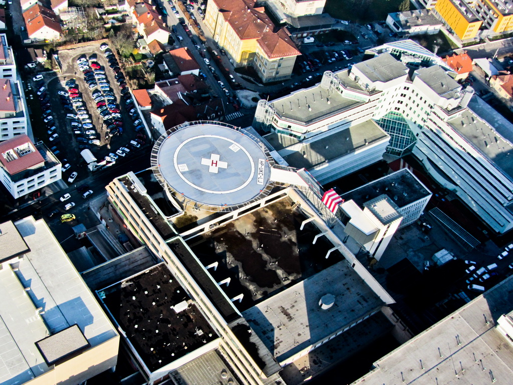 Heliport, University Medical Centre Ljubljana